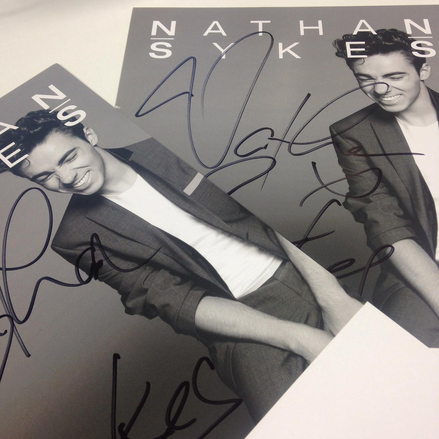 RT @NathanSykesHQ: Congrats @joannexclarke and @_IdkAbbie! You've bagged yourselves one of these as signed by MR @nathansykes http://t.co/Q…
