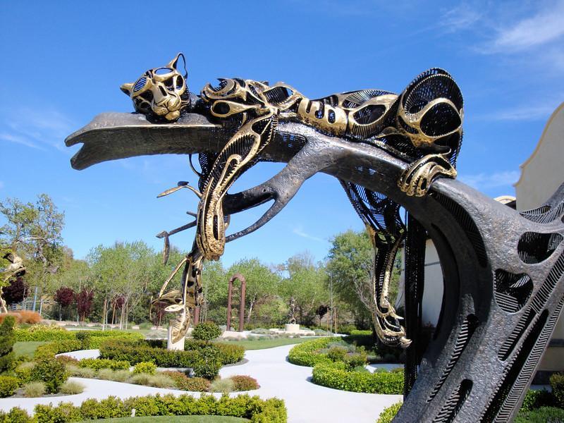 Sculpterra Winery and Sculpture Garden, Paso Robles, CA (Jim G) https://t.co/xlKDgPKwR6