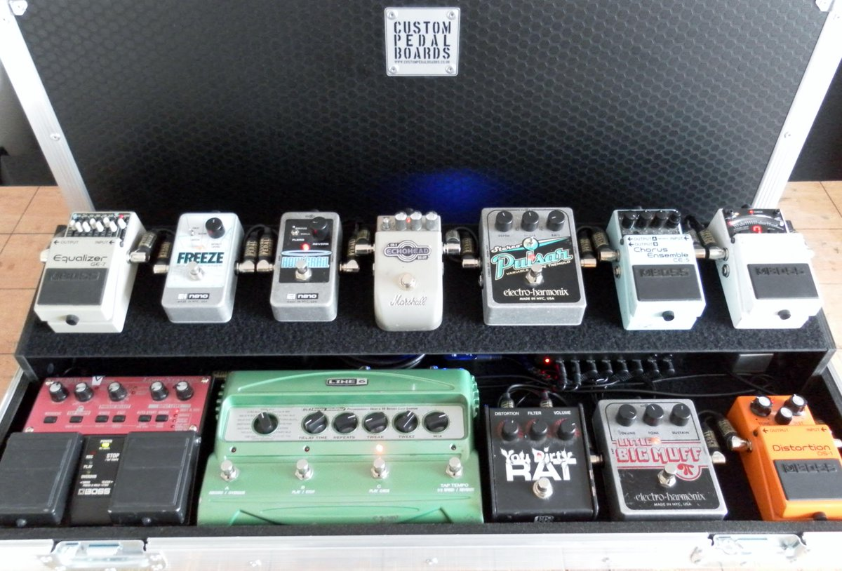 Custom Pedal Boards On Twitter 2 Tier Board I Wiring Finished Up The Other Day Http Tco Yhxm3fkbb0