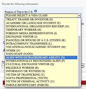 U.S visa application has a field for 'Alien with extraordinary ability'. I guess this is for Superman & Supergirl? http://t.co/4EXfVy4nLj