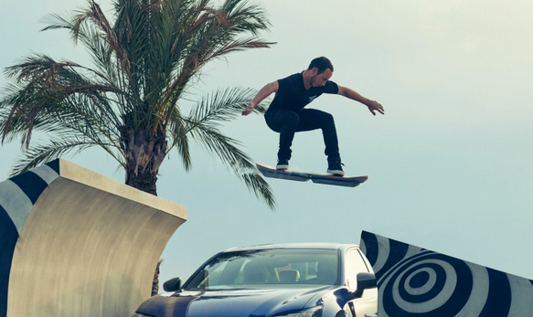 Great Scott! We sat down with the Creative Director of that epic Lexus Hoverboard campaign http://t.co/4XptktCieh http://t.co/1MKPJGWXuO