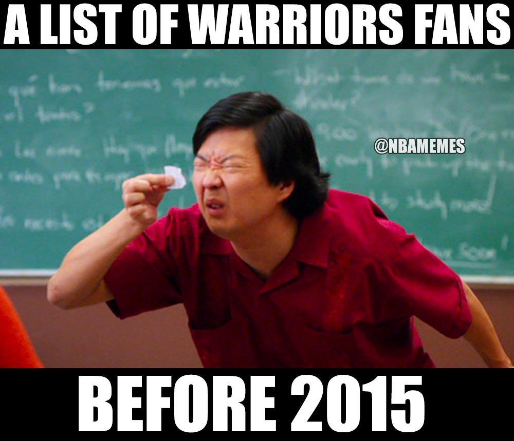 Nba Memes On Twitter Warriors Fans Before Last Season Httptco
