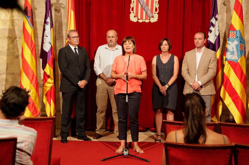 Armengol cree que el problema de financiaci�n de Baleares no debe hacer que se 'menosprecie' a otras CCAA