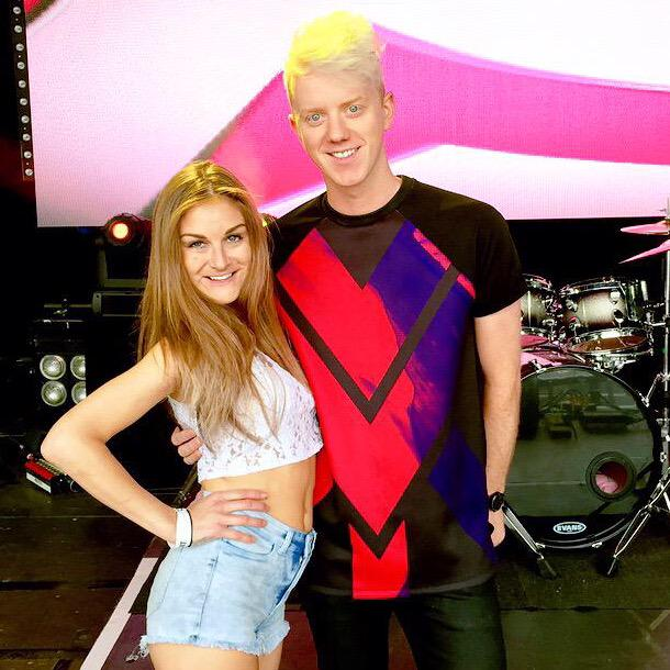 """RT @imjamesbarr: """"WHO IS HE ... WHERE DID YOU FIND HIM"""" @Nikki_Grahame1 is bringing the lols @manchesterpride LET'S GO!!!! http://t.co/akRx…"""