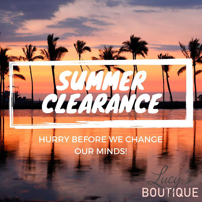 Enjoy girlies 😊 http://t.co/CPBnFUVQPn  #Summer #Clearance #SALE http://t.co/Zv5HJWVIBW