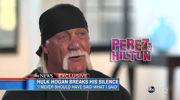 #HulkHogan opens up about his racist comments and tearfully admits he wanted to kill himself http://t.co/pnLTtVYRW8 http://t.co/ZYgno1MpWV