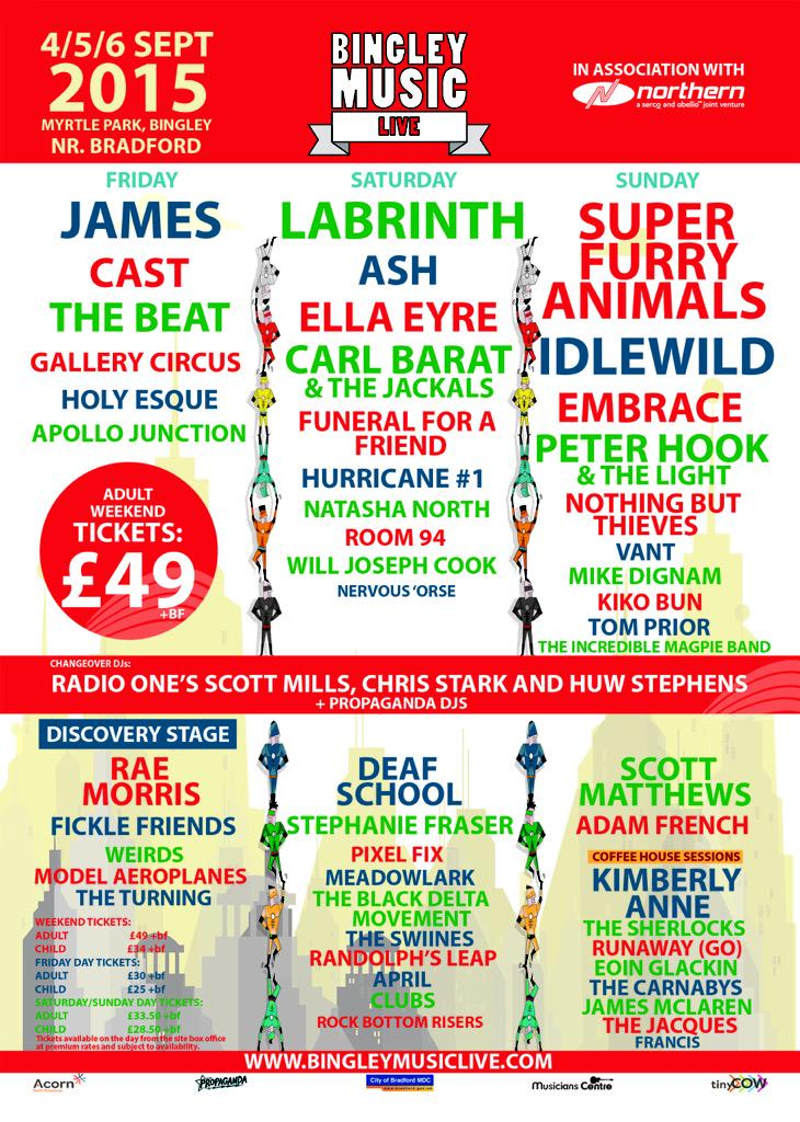 RT @BingleyFestival: @huwstephens we're looking forward to you joining us this weekend! http://t.co/0pmBml5TWx