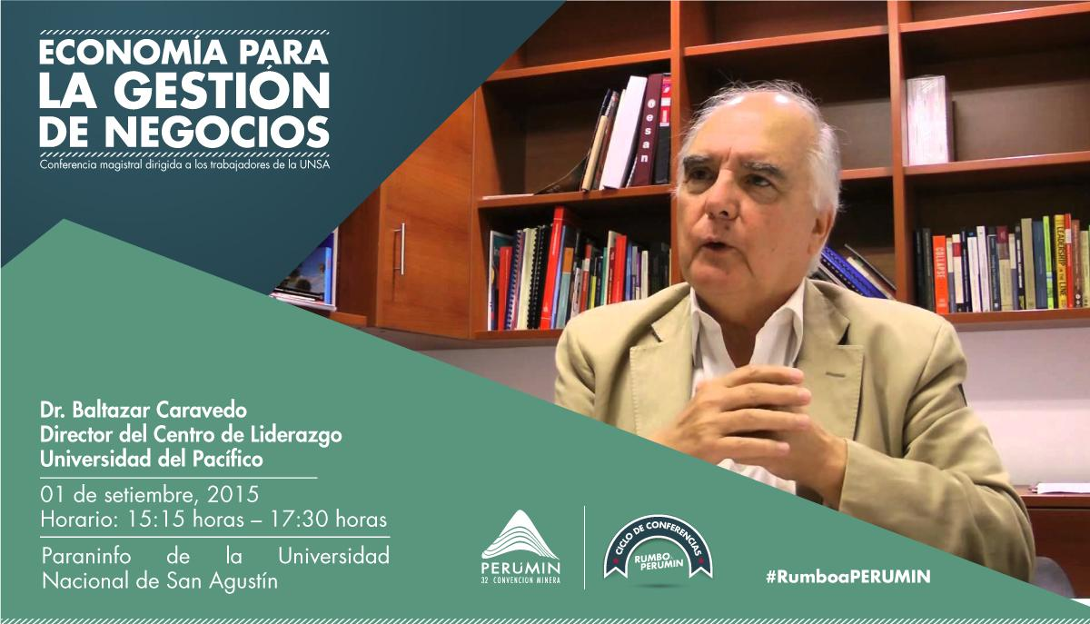 Thumbnail for ¡Baltazar Caravedo dictó conferencia magistral en Rumbo a PERUMIN!