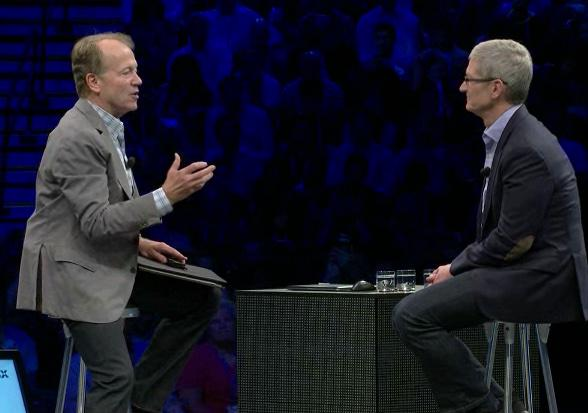 Apple CEO @tim_cook and Cisco exec chair John Chambers announce historic partnership to transform the way people work http://t.co/wBZqRIYCf9