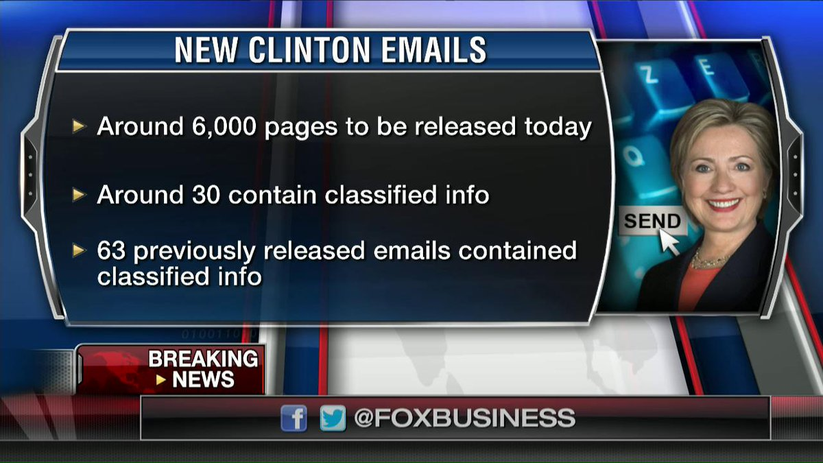 More Clinton emails with classified information