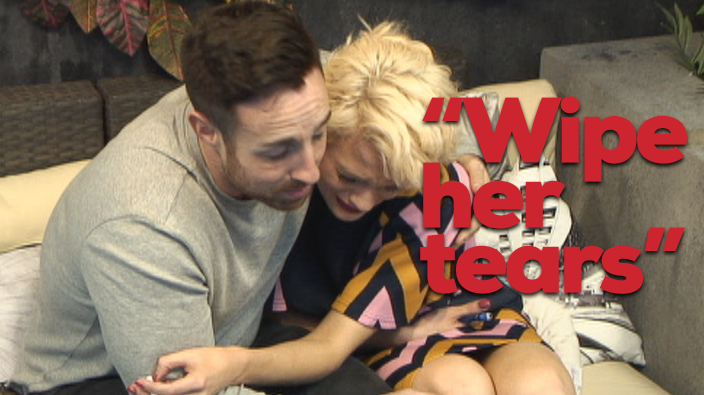 Chloe-Jasmine's crying again but some Housemates aren't taking it seriously. Bad Baldwin! http://t.co/IqfWSzFox1 #CBB http://t.co/qQ8Yg5rLPM
