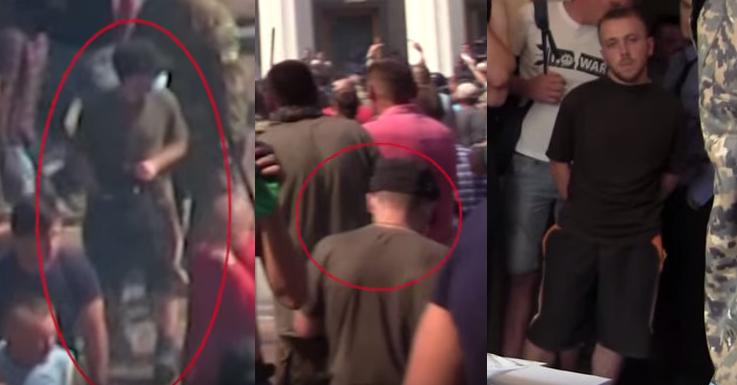 Подозреваемый в броске гранаты под Радой, Гуменюк находится в Голосеевском райотделе милиции - Цензор.НЕТ 8212
