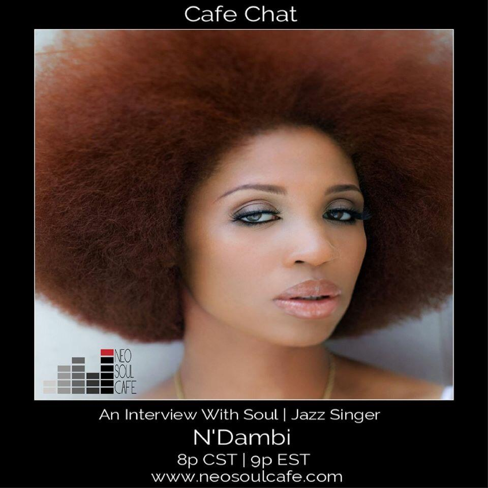 Tune-in http://t.co/nGzm7ufYOR now to hear my conversation with @Francesjaye 8pm cst/9pm est @NeoSoulCafe http://t.co/7DU9SvoHbM