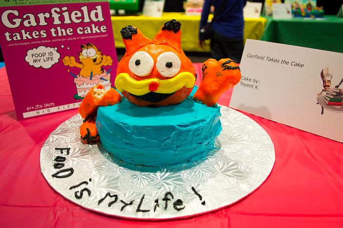 Amazing Joe Veix On Twitter Searching Flickr For Photos Of Bad Garfield Personalised Birthday Cards Veneteletsinfo