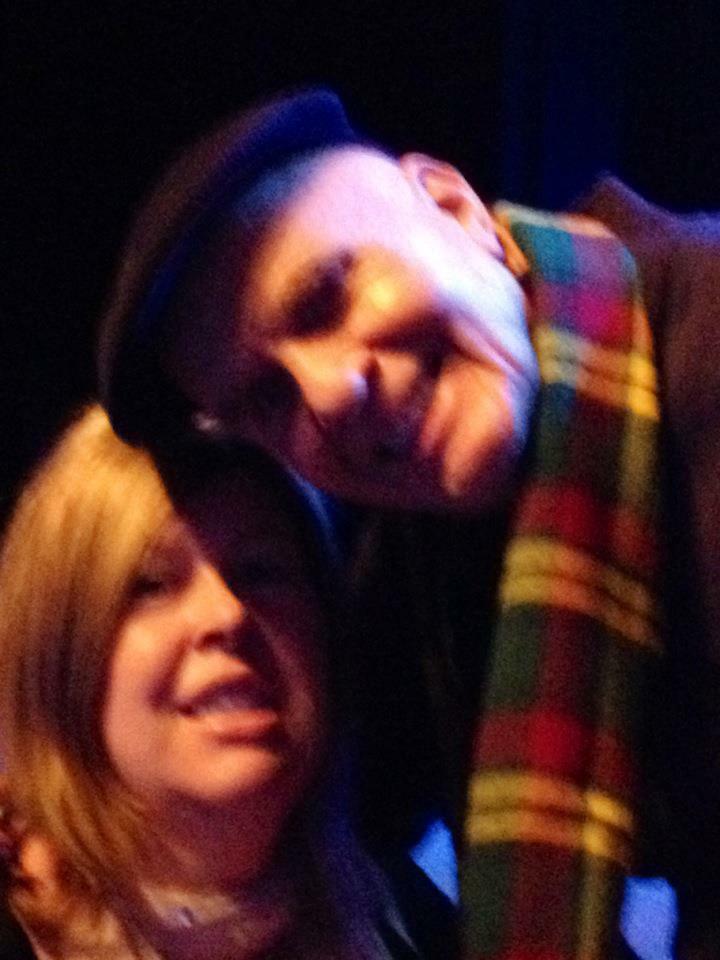 Meeting Wayne in Glasgow, sweet memories x