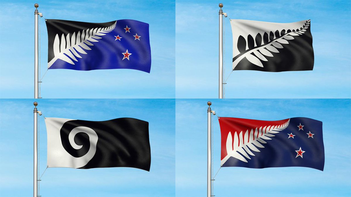 New Zealand releases shortlist for its new flag and no one's happy