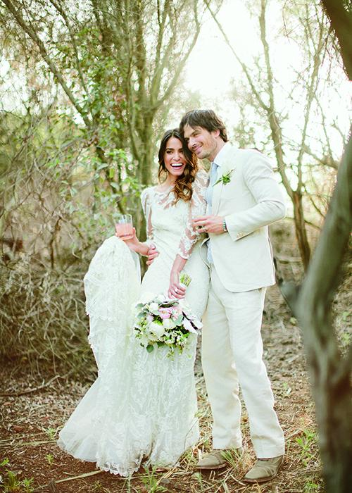 EXCLUSIVE: New pics from @NikkiReed_I_Am & @iansomerhalder's wedding, as seen in our new issue http://t.co/W4gBHh9lsl
