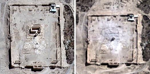 BEFORE AND AFTER: ISIS CONTINUES DESTROYING ANCIENT SITES…