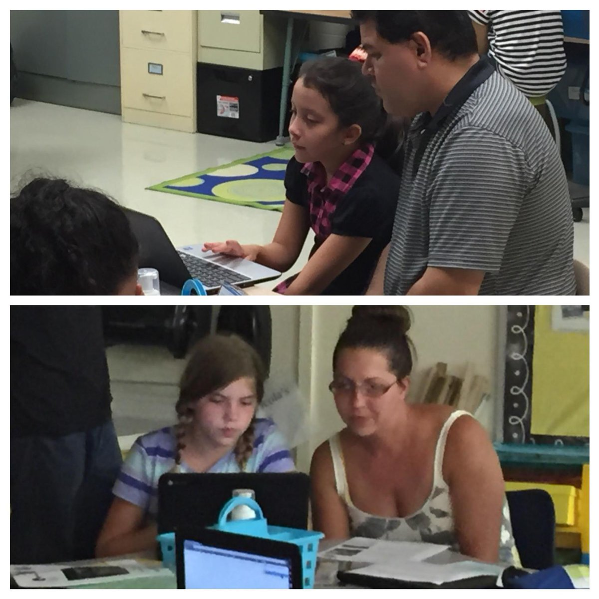 Enjoyed seeing 5th grade students involved in explaining to parents how they'll use #Chromebooks this year! #wdsd7 http://t.co/EAeUN9g9Zi