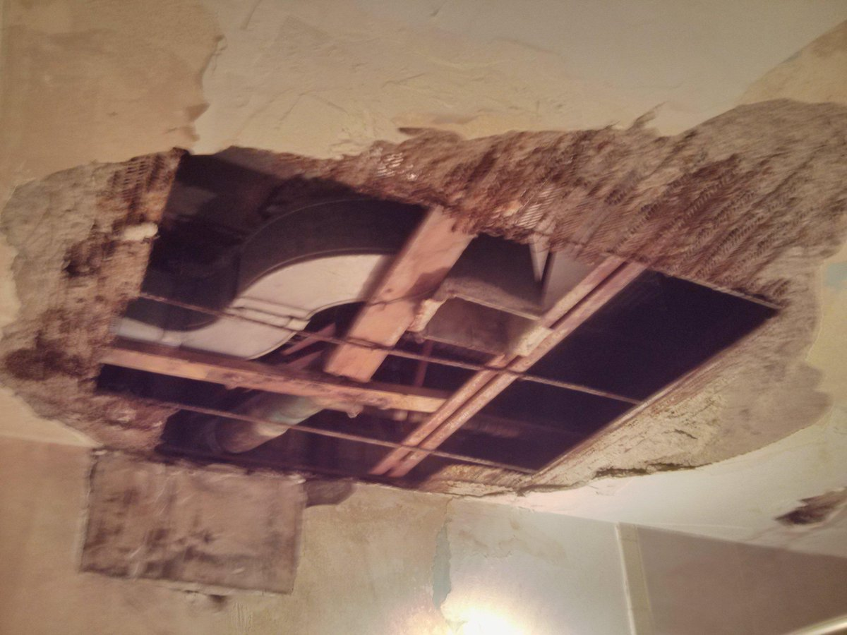 Philip Levett On Twitter First Step On Plaster Repairs