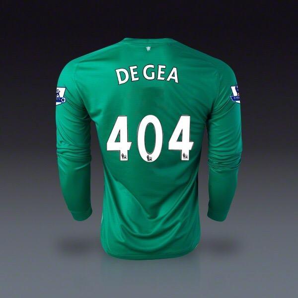 RT @virginmedia: After file error derails De Gea transfer, Man Utd reveal his new squad number.  #DeadlineDay #AllTheFootball http://t.co/h…