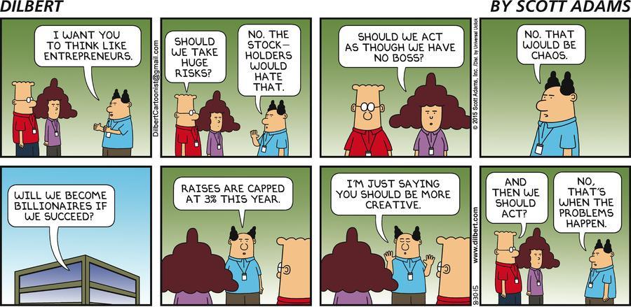 Classic Dilbert