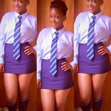 Apologise, but, mzansi school girls can not