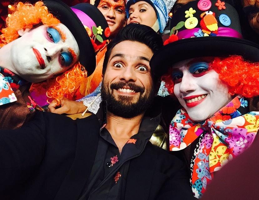 Mohit Malik and Faisal Khan with Shahid Kapoor