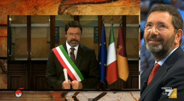 DiMartedì Video: La copertina di Maurizio Crozza su Buona Scuola, Renzi, Jobs Act e Ignazio Marino del 15 settembre.