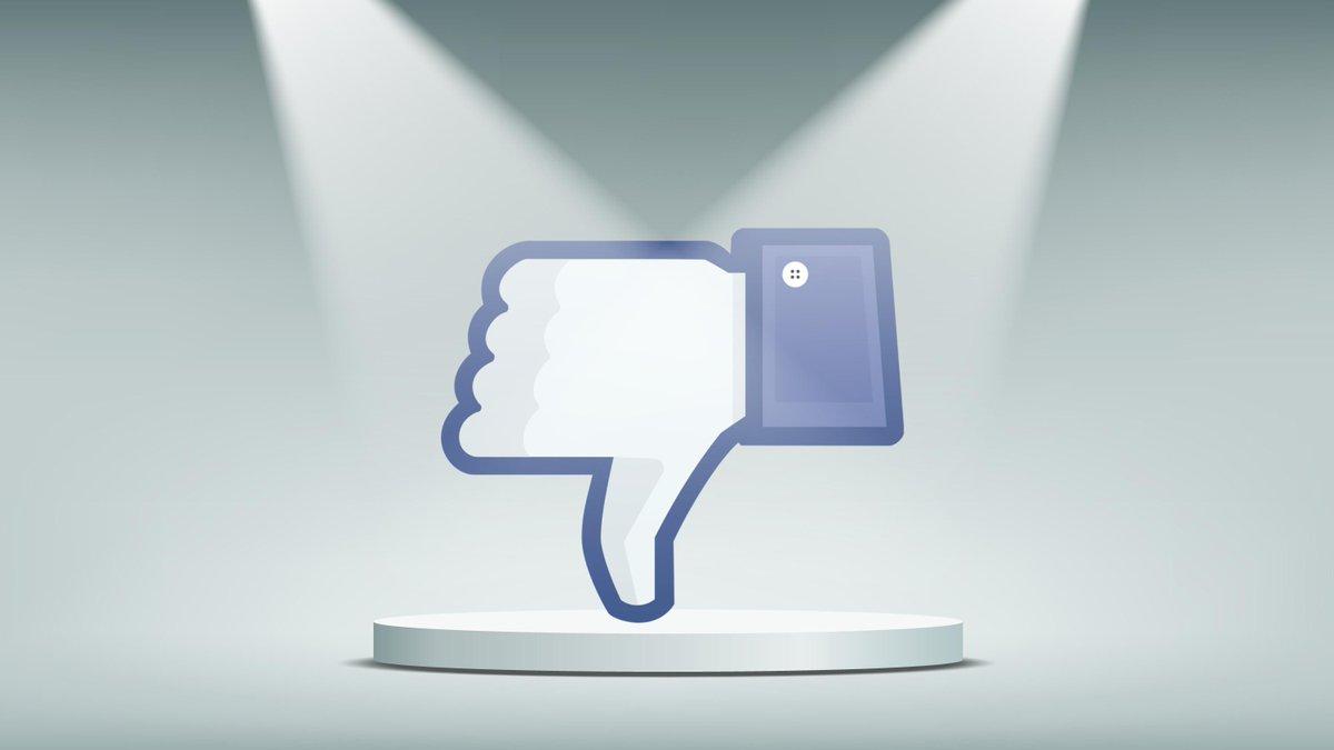 """Facebook avrà il pulsante """"non mi piace""""."""