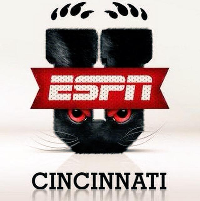 All 18 of the #Bearcats conference games will be #NationallyTelevised  #ESPN  #ESPN #CBS #WeAreCincinnati #UC
