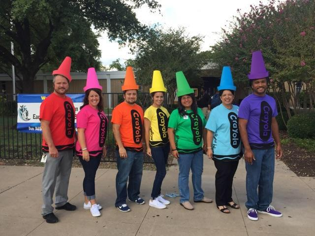 Reagan High School On Twitter Twin Day This Pack Of Crayons Is
