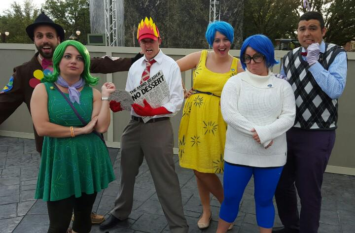 Touringplans On Twitter Touringplans Inside Out Is A Very Popular Group Costume For Notsoscary Http T Co Sisy0hwyoo