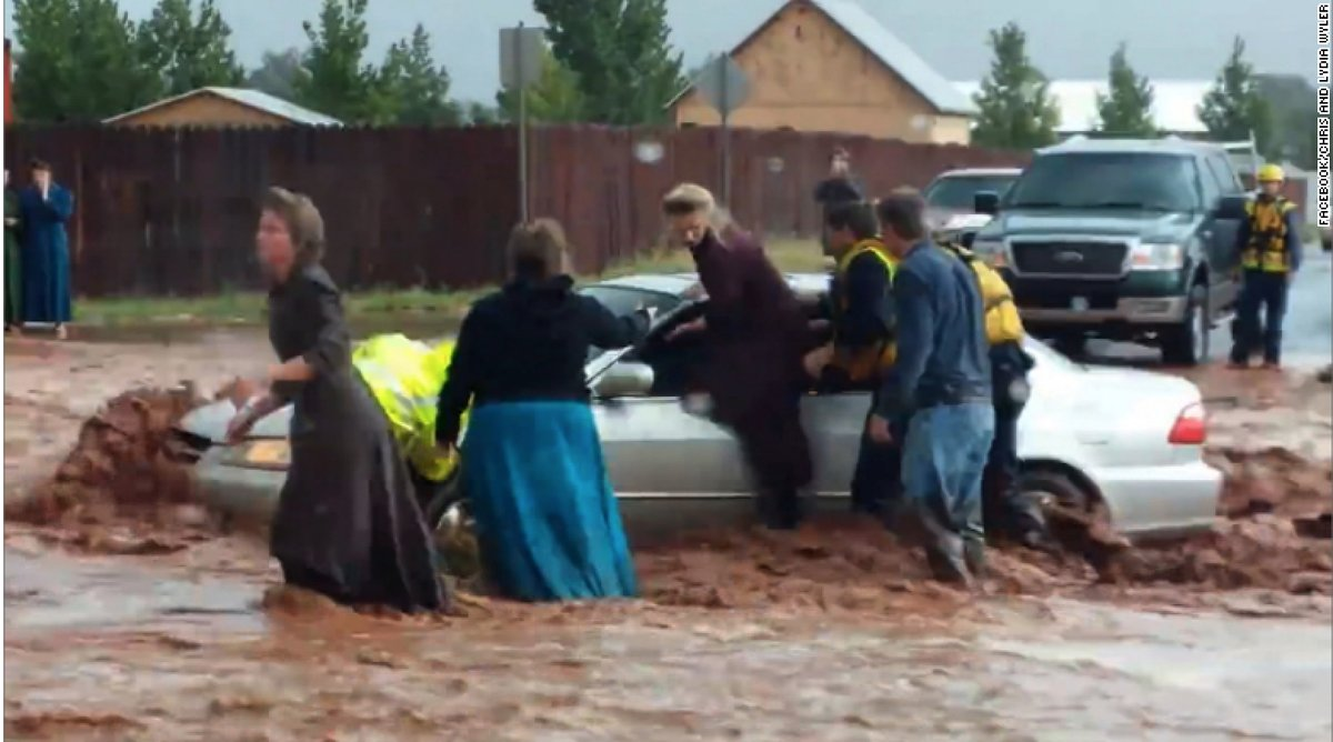 Deadly flash floods hit polygamous community in Utah