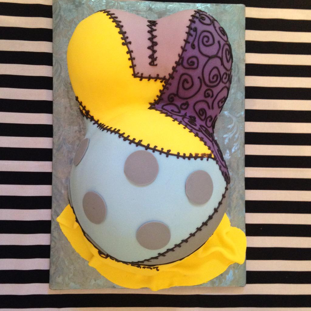 Melissa On Twitter My Nightmare Before Christmas Baby Shower Cake
