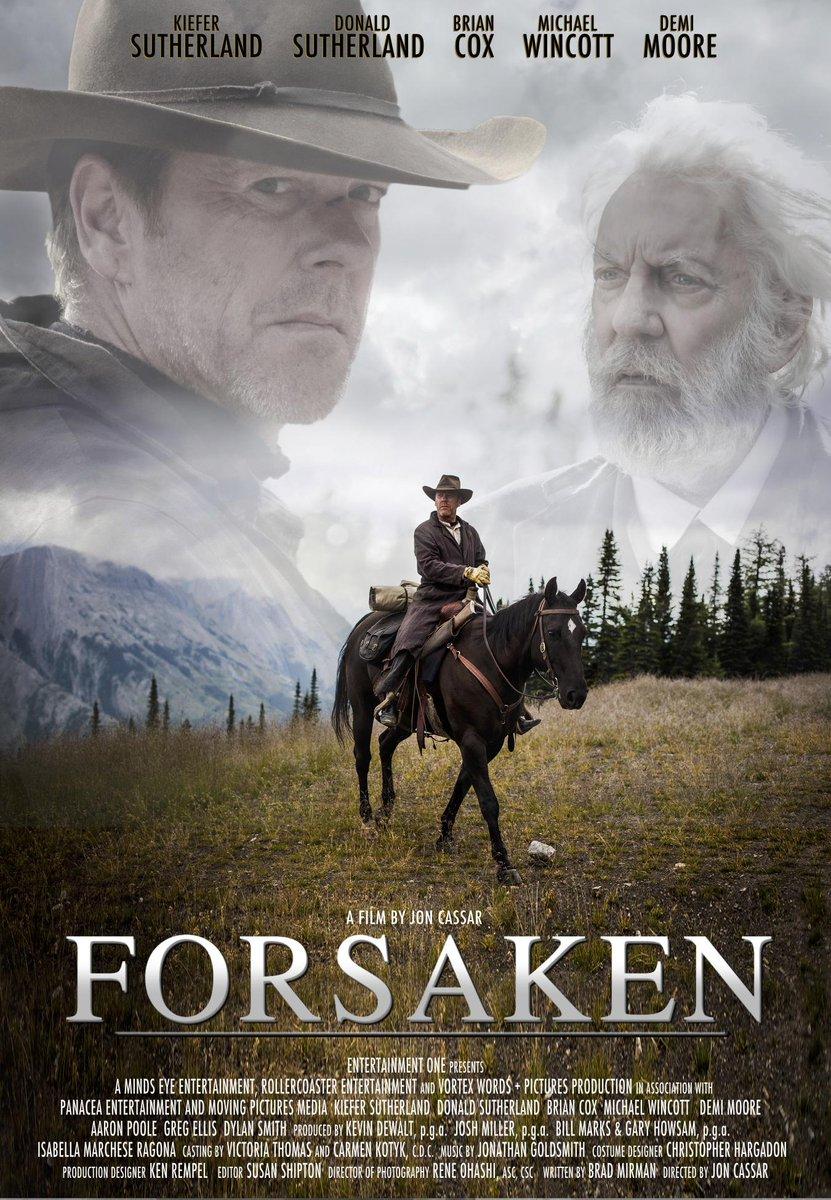 Forsaken (2016) -- D: Jon Cassar, S: Kiefer & Donald Sutherland ...