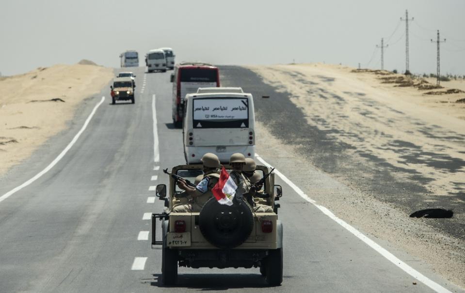 Turisti Messicani uccisi dall'esercito in Egitto per errore.