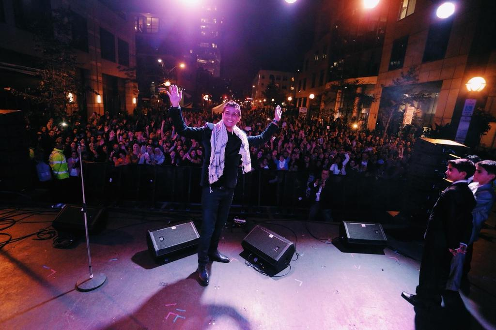 Thank you, @MohammedAssaf89, for closing out #TIFF15 Festival Street in style. http://t.co/qjrwd4Qwsk http://t.co/bI5h2Vvq9s