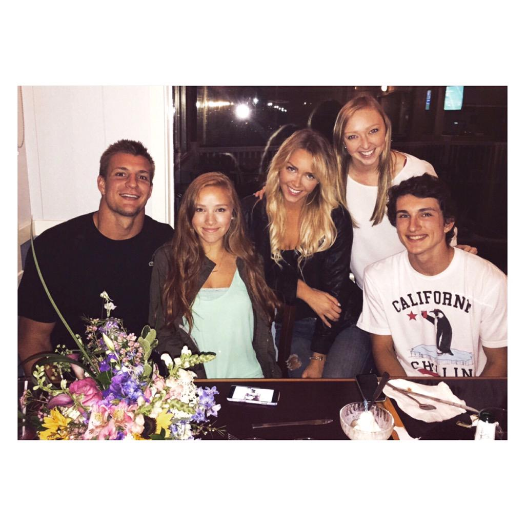 "Camille Kostek Parents: Camille Kostek On Twitter: ""birthday Dinner For My"