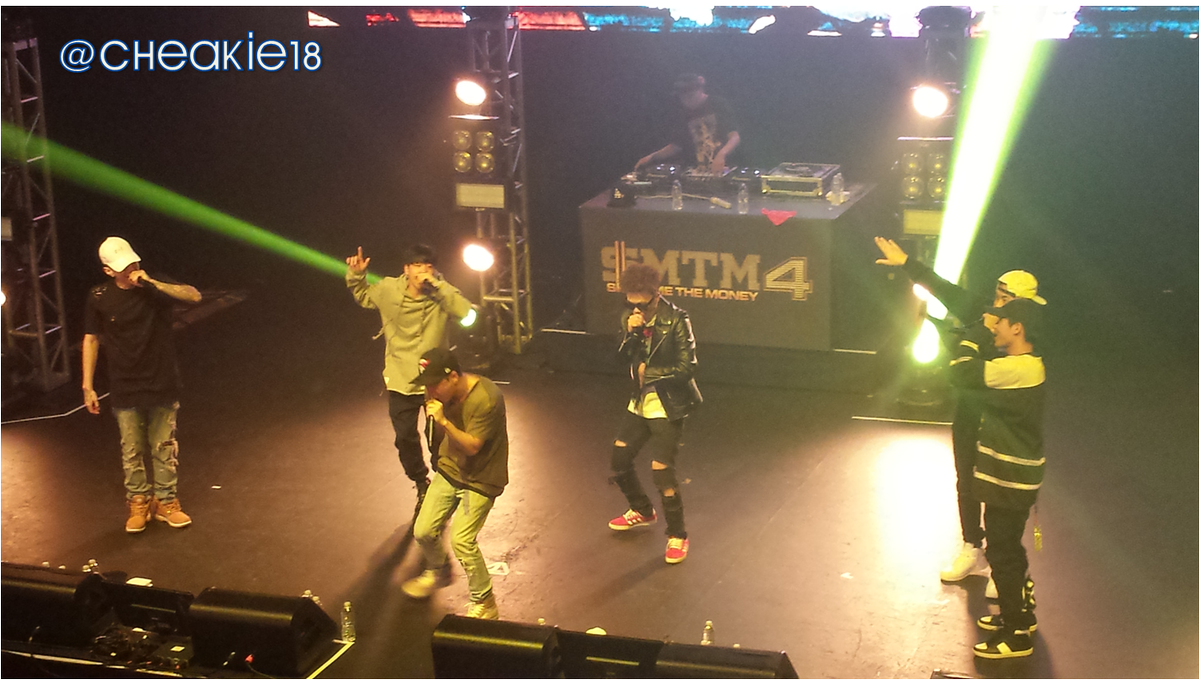 [#SMTM4inLA] Team AOMG~~~ #Respect http://t.co/47ec0HXmTf