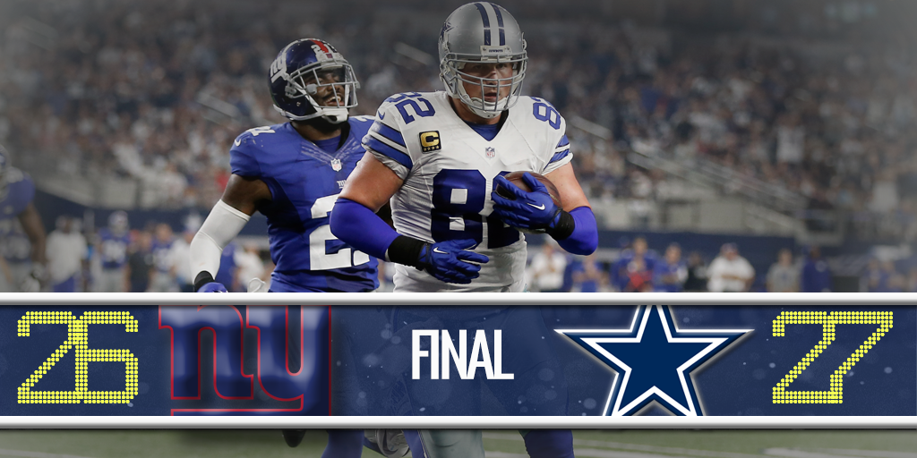 #COWBOYS WIN!  That's @SNFonNBC for you!