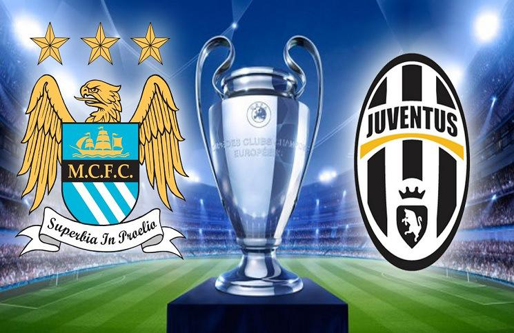 DIRETTA calcio JUVENTUS - Manchester City Rojadirecta Streaming Gratis Champions League Video Live TV.