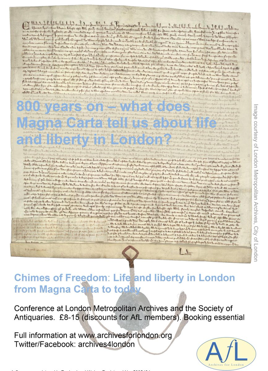 Book now #ChimesofFreedom on life and liberty in London since Magna Carta 25 Sept/2 Oct http://t.co/Zcrz3TMNL8 http://t.co/k8sNo9UQnl