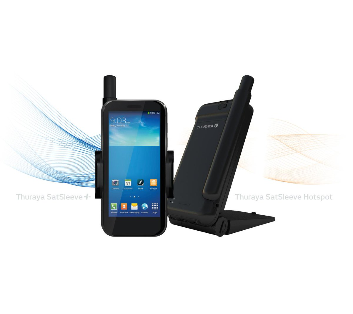Thuraya Satsleeve+ and Hotspot