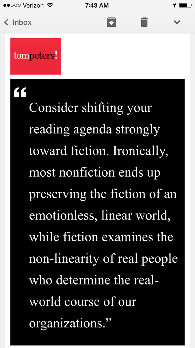 Tom's morning quote ENJOY - @tom_peters http://t.co/LhaRSKPX10