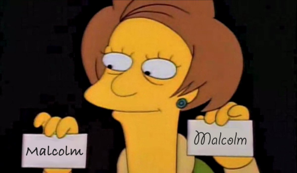 One for Malcolm....two for Malcolm! #libspill http://t.co/fGIFcpEVNA