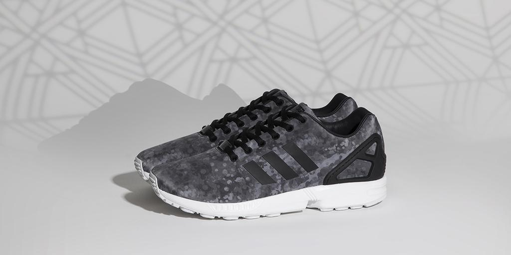 946821052 ZX Flux in a classic camo colourway. Coming soon from adidas Originals x  White Mountaineering.pic.twitter.com e3gSAgg586