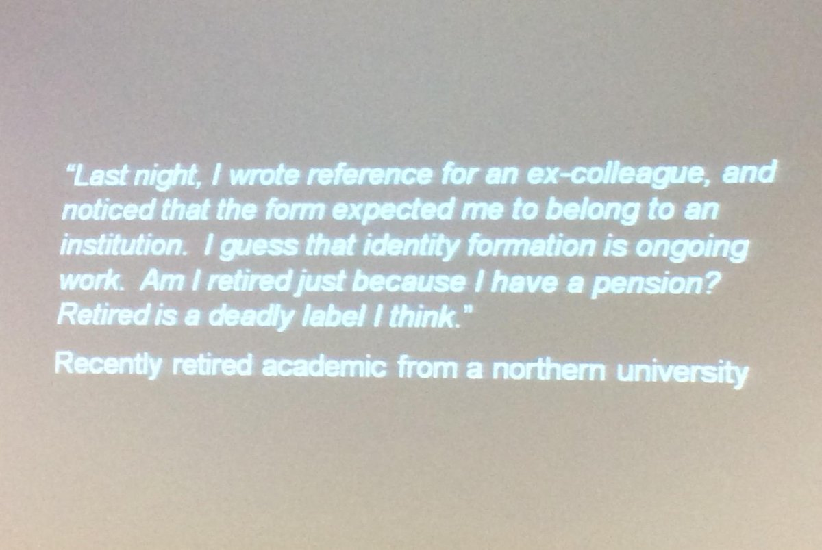 "Academia expects you to ""belong"" somewhere - an Important issue highlighted by @BrianKelly at #mmit2015 http://t.co/NPSpDyTxro"