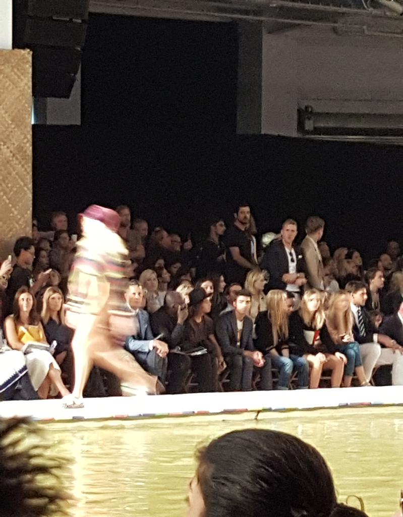 Watch out @GiGiHadid, as you walked that runway, your man @joejonas had his eyes on me! #tommyspring16 #nyfw http://t.co/dxspp8I9ir