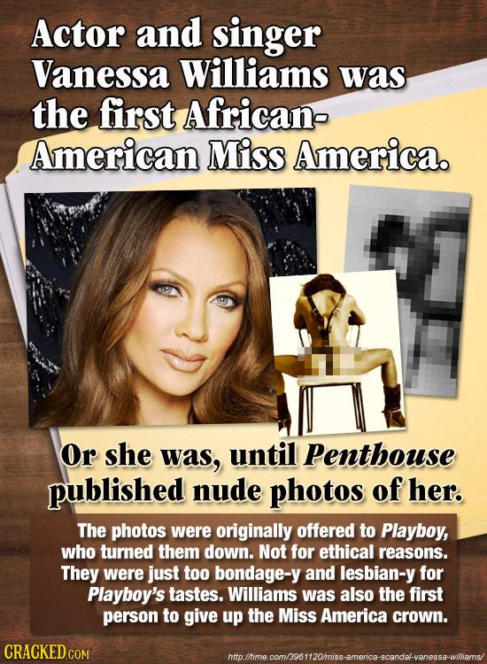 miss america vanessa williams penthouse